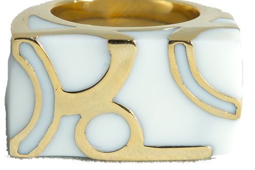 Vanilla Gold Ring