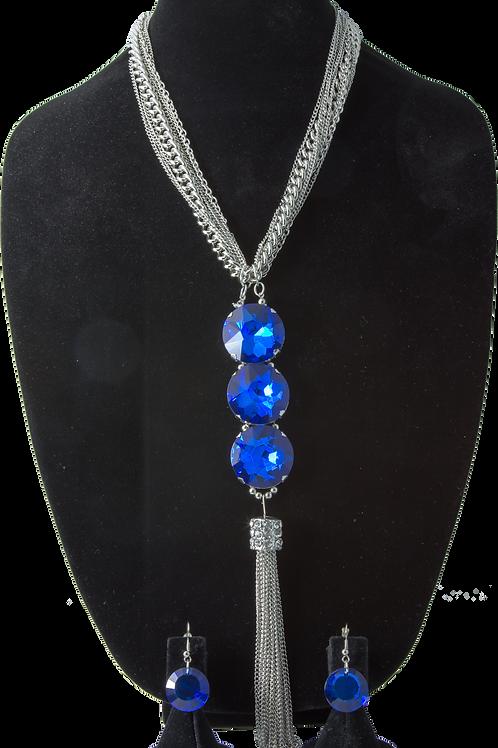Royal Blue Long Chain Set