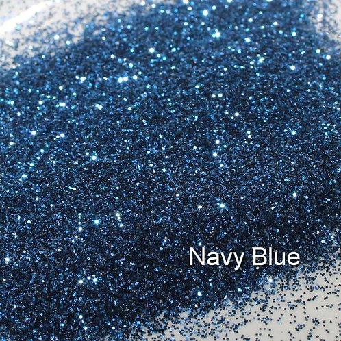 Navy Blue Glitter Lipz