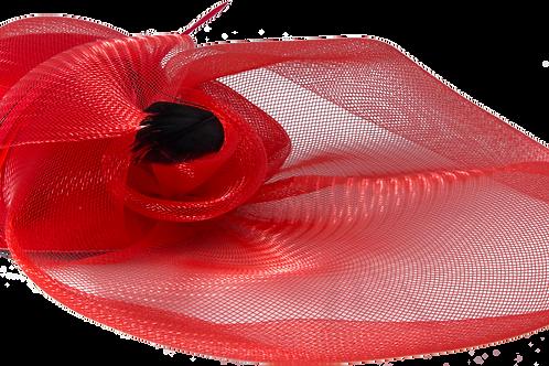 Birdcage Hat (Red)