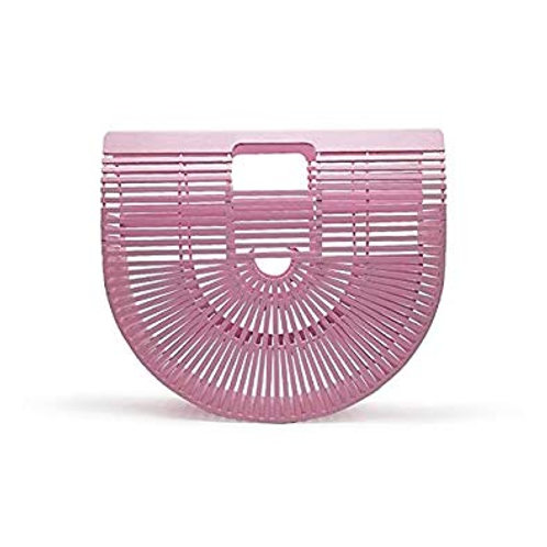Pink Bamboo Ark Bag