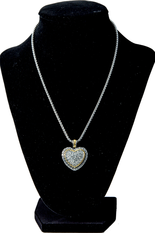 Antique Heart Chain