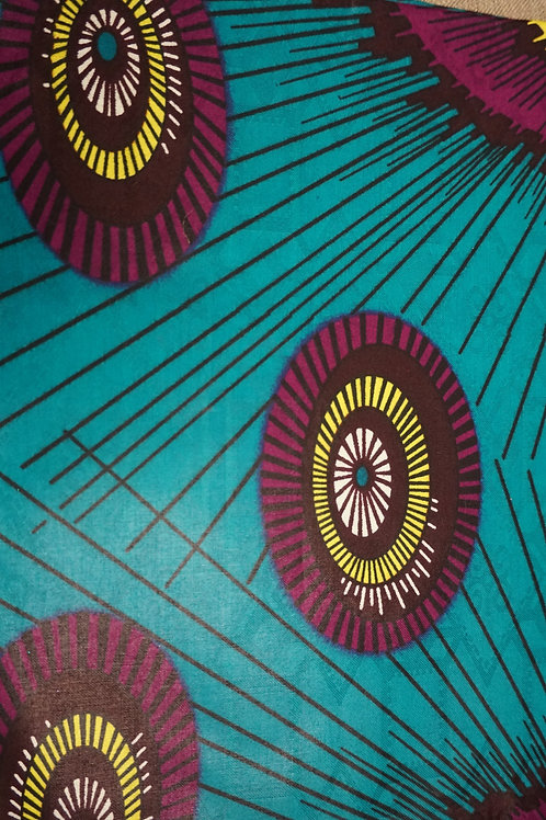 Birthday Chick African Fabric