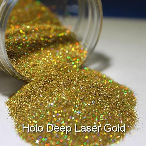 Deep Laser Gold Glitter Lipz