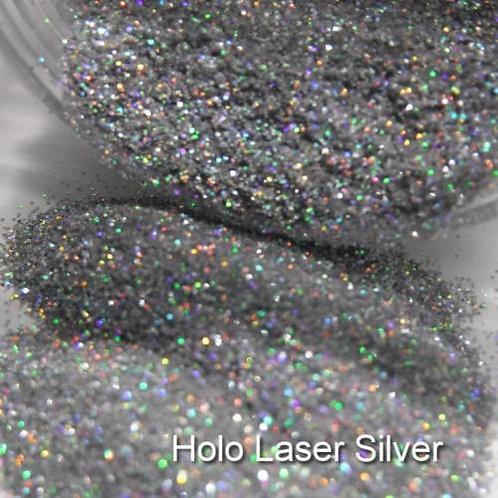 Holo Silver Glitter Lipz