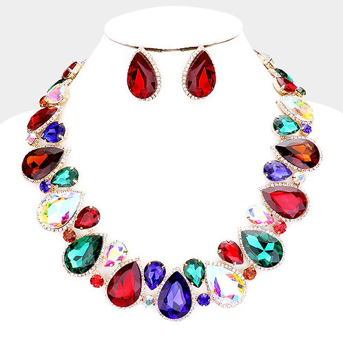 V Day Collar Necklace