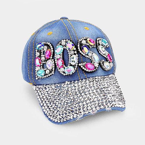 Light Jean BOSS Hat