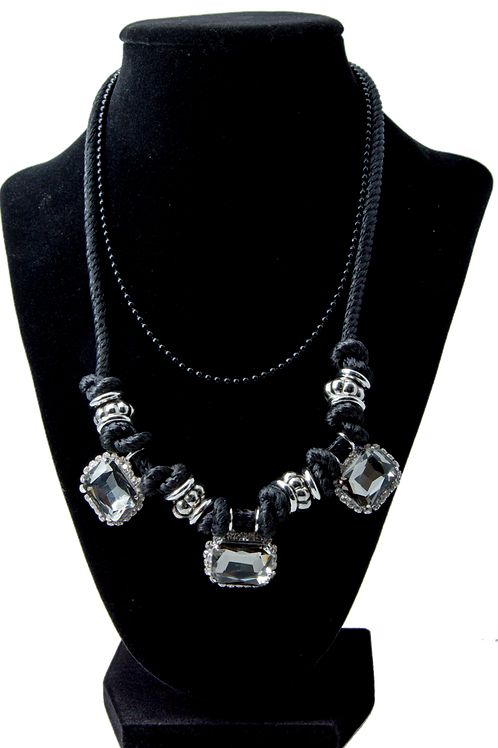 Flying Jewel Crystal Necklace