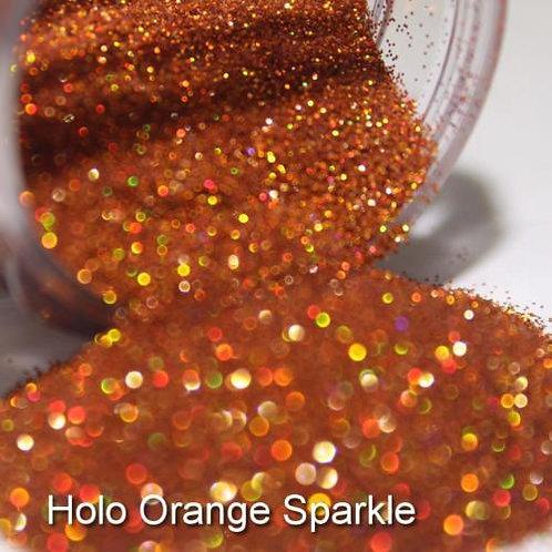 Holo Orange Glitter Lipz