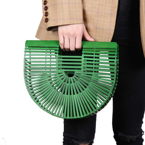 Green Bamboo Ark Bag