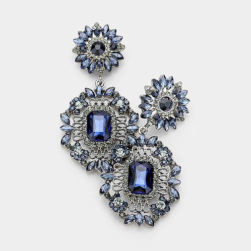 Montana Blue Daisy Drop Earrings