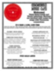 2020 MAY DINNER MENU - weekly ONLINE ver