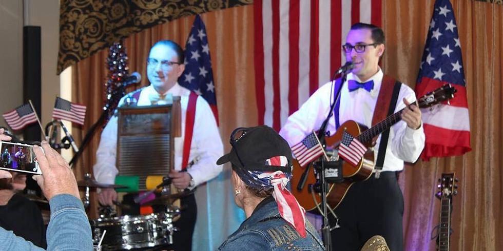 Special PATRIOTIC Veterans Day Dinner Show