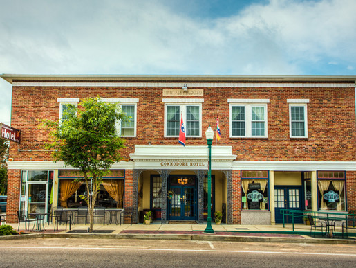Historic Commodore Hotel in Linden, Tennessee - A Caring Place for Challenging Times