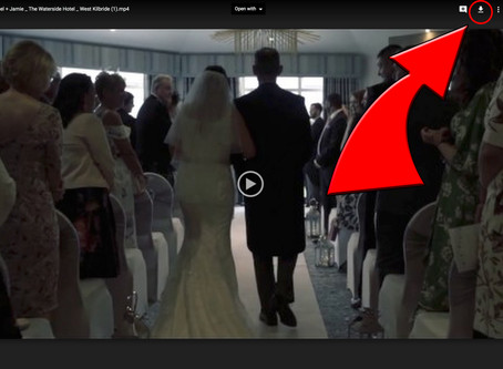 How To Post Your Wedding Film To Facebook.