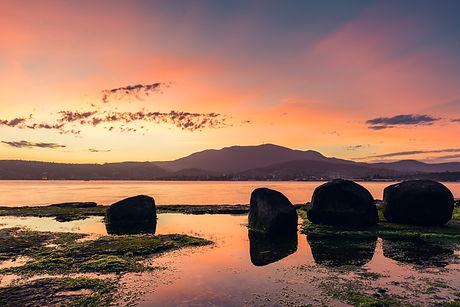 Hobart at Sunset