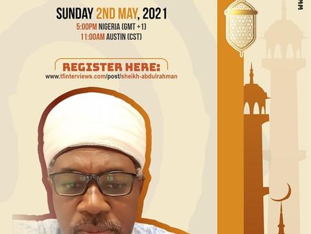 A Conversation with Sheikh Abdurrahman Ahmad
