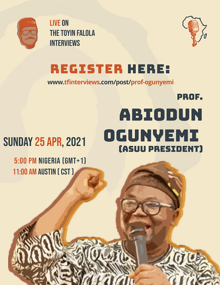 A Conversation With ASUU President, Prof. Abiodun Ogunyemi