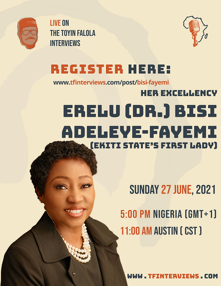 A Conversation with H.E. Erelu (Dr.) Bisi Adeleye-Fayemi
