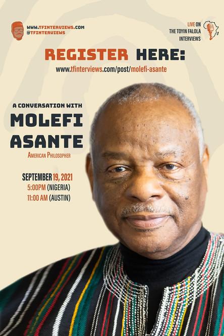 A Conversation with Molefi Asante