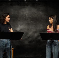 Hana Chamoun and Jessica Damouni OUR HOUSE Staged Reading