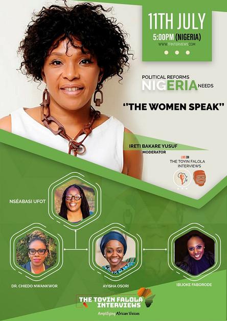 [Women In Politics Panel] Political Reforms Nigeria Needs - The Women Speak