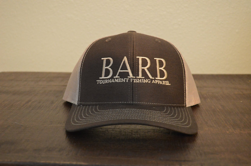 Brown and Khaki Snapback Structured Hat