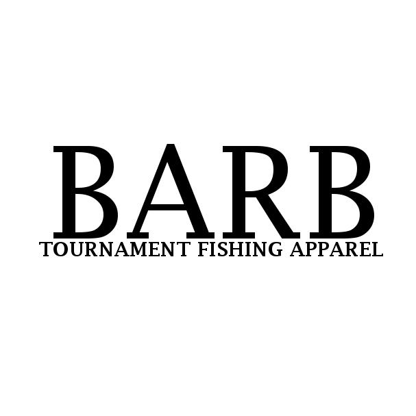 Barb fishing logo