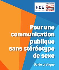 Pour une communication publique sans stéréotype de sexe