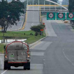 Disminución del 27% en la movilidad en vías de Cundinamarca
