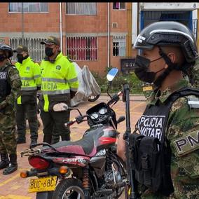 Soacha recibió 200 soldados para acompañar a la Policía en operativos