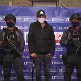 Emilio Tapia fue trasladado a la cárcel la Picota