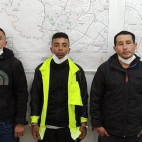 Ladrones se vestían de policías para robar viviendas en Bogotá