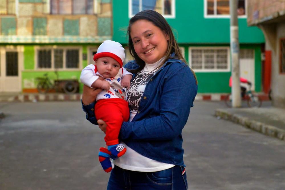 """""""Sueño con que mi hijo pueda tener vida alegre en Soacha y Venezuela"""""""