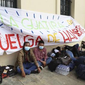Huelga de hambre esperando respuestas del gobierno Duque