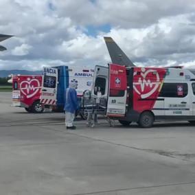 Cundinamarca recibe en su red hospitalaria tres pacientes covid provenientes de Santa Marta