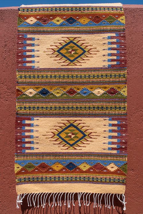 Zapotec Mirror Rug