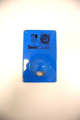 Abridor para Parede BeerCode Azul