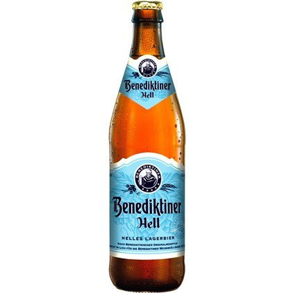 Cerveja Benediktiner Hell 500 ml