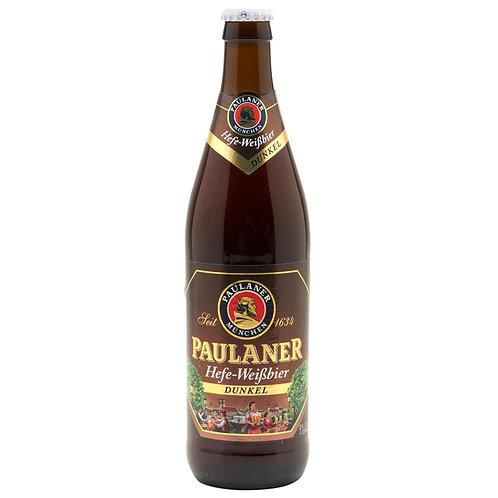 Cerveja Paulaner Hefe-Weissbier Dunkel 500 ml