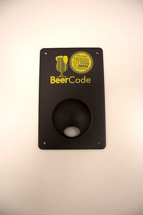 Abridor para Parede BeerCode Preto
