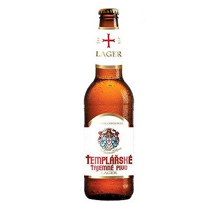 Cerveja Templárske Tajemné Pivo Lager 500 ml