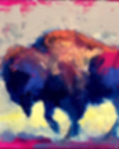 SW.Low Rumble. 24x36x2.5 gallerywrap $14