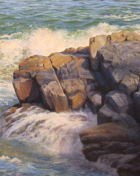 Fred McCormick Sun Splash 16x16 $1650.jp