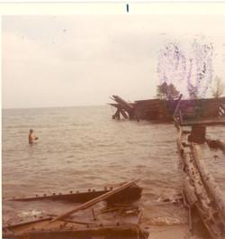Sunken Barge 1971