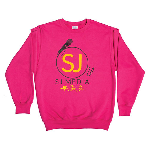 SJ Pink Crewneck