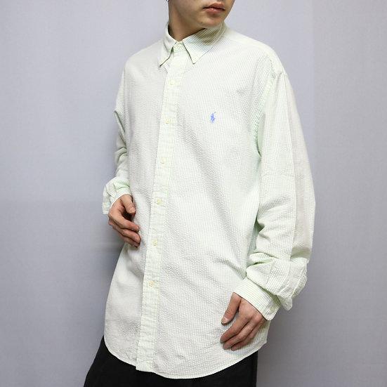design shirts  / WHT GRN
