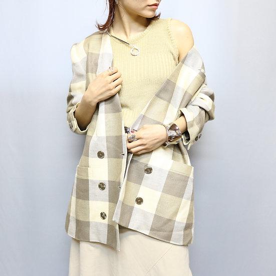 design jacket / check
