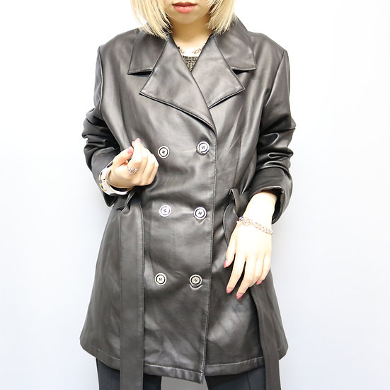 design jacket / BLK