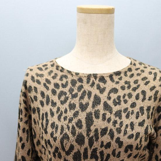 print design tops / leopard